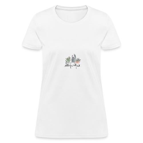 succulent - Women's T-Shirt