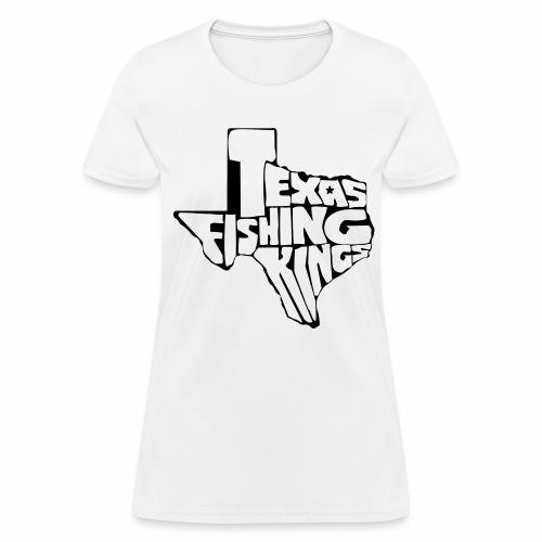 Texas Fishing Kings- Texas Logo - Women's T-Shirt