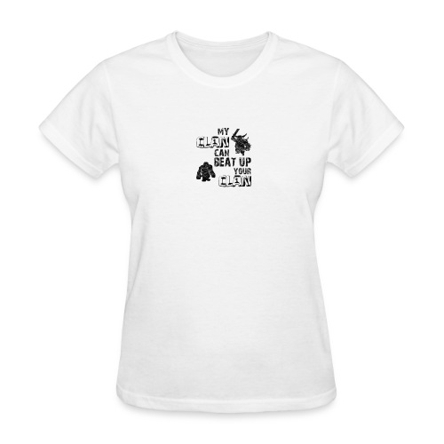 Clash of clans clans selection - Women's T-Shirt