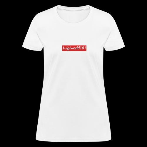 Lw1 box logo - Women's T-Shirt