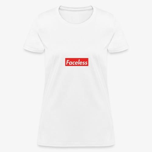 Faceless - Women's T-Shirt