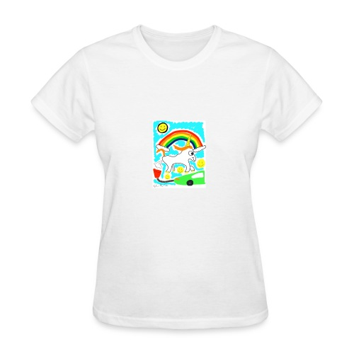 Unicorns are Magical Creatures The Make Electricit - Women's T-Shirt