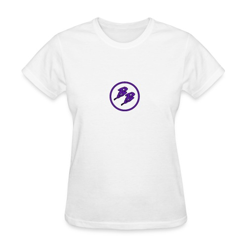 Simple Small Logo Design - Women's T-Shirt