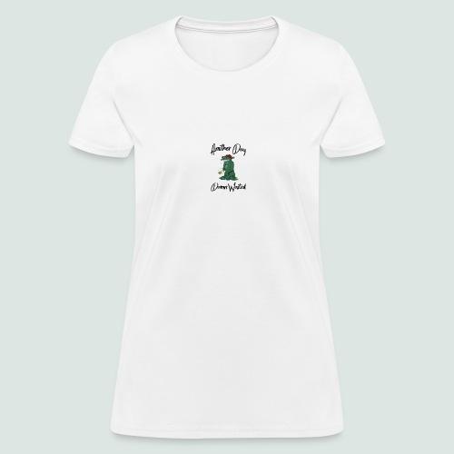 Frogtupus (black lettering) - Women's T-Shirt