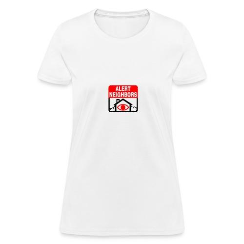 Alert Neighbors Logo - Women's T-Shirt