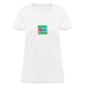Thouser square logo - Women's T-Shirt