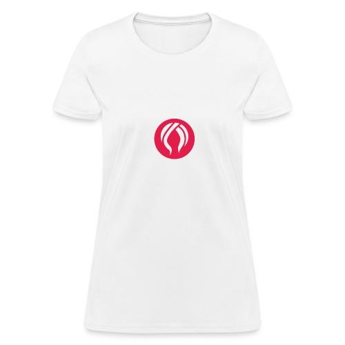 WT Cicrle App Logo Red - Women's T-Shirt