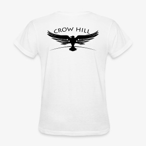 Crow Hill Band Black Logo on Back - Women's T-Shirt