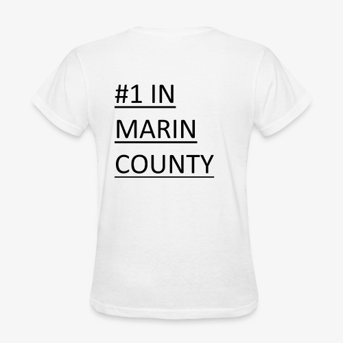 #1 Quizbowl Team in Marin County - Women's T-Shirt