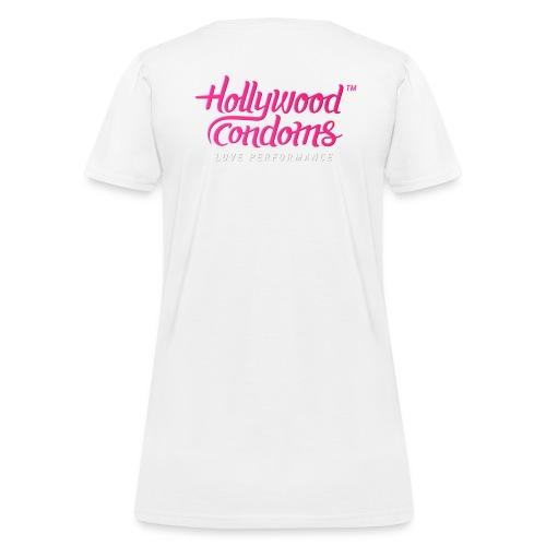 Hollywood Condoms™ - Love Performance - Women's T-Shirt