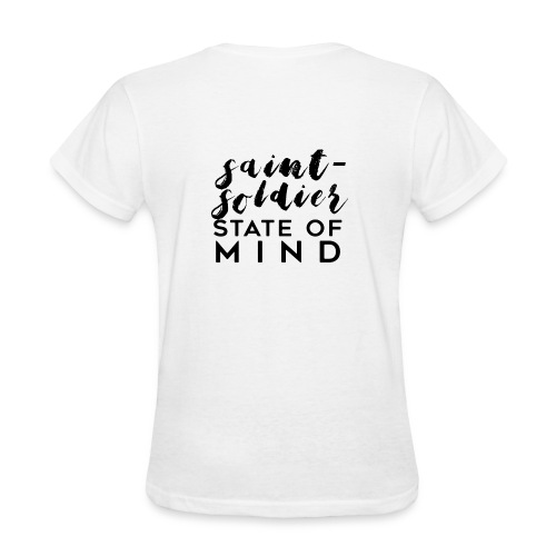 saint-soldier state of mind - Women's T-Shirt