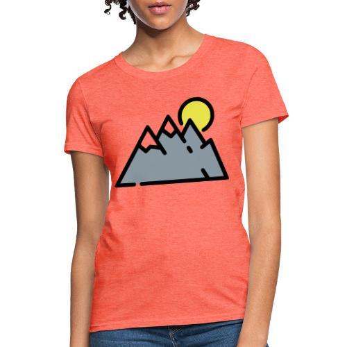 The High Mountains - Women's T-Shirt