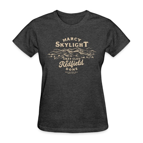 Marcy, Skylight, Gray, Cliff, and Redfield. Done. - Women's T-Shirt
