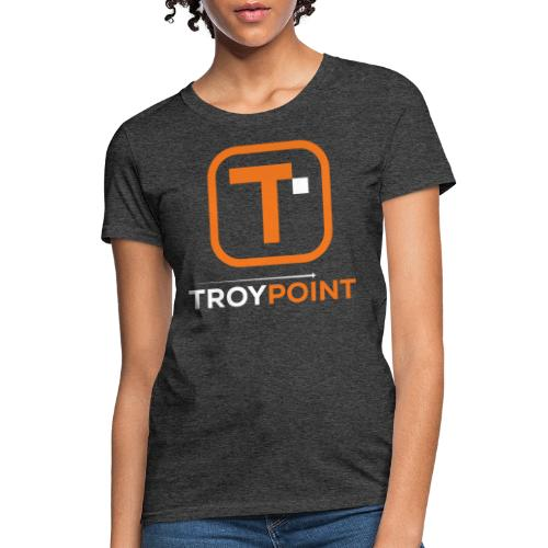 TROYPOINT Orange Logo - Women's T-Shirt