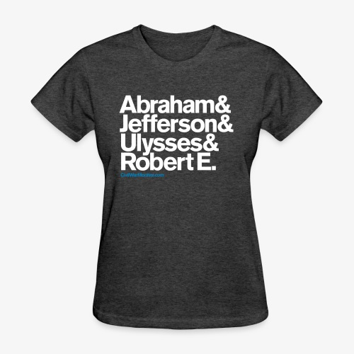 Civil War Leaders - Women's T-Shirt