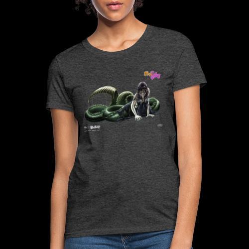 Scythe Mermaid - Women's T-Shirt