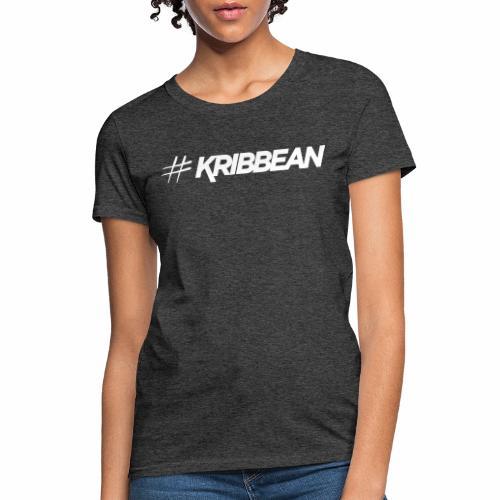 Original #KRIBBEAN White - Women's T-Shirt