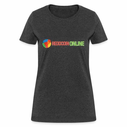 Reddcoin online logo red and green - Women's T-Shirt