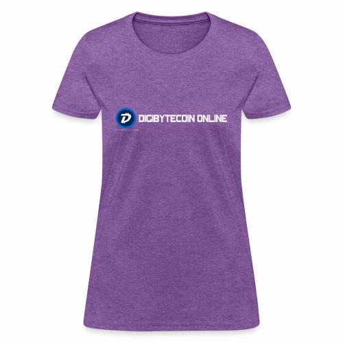 Digibyte online light - Women's T-Shirt