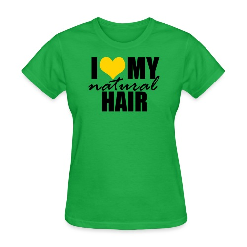 LOVE MY NH yellow - Women's T-Shirt