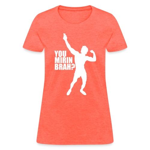 Zyzz Silhouette You mirin brah? - Women's T-Shirt