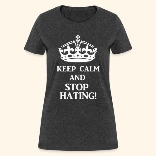 stoph8ingwht - Women's T-Shirt