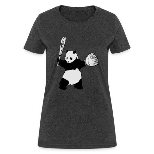 Panda Baseball - Women's T-Shirt