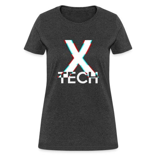 X-Tech Logo - White - Women's T-Shirt