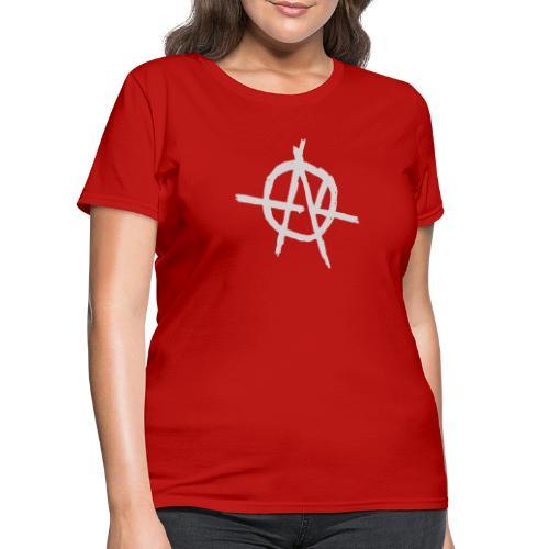 Anarchy (Grey) - Women's T-Shirt