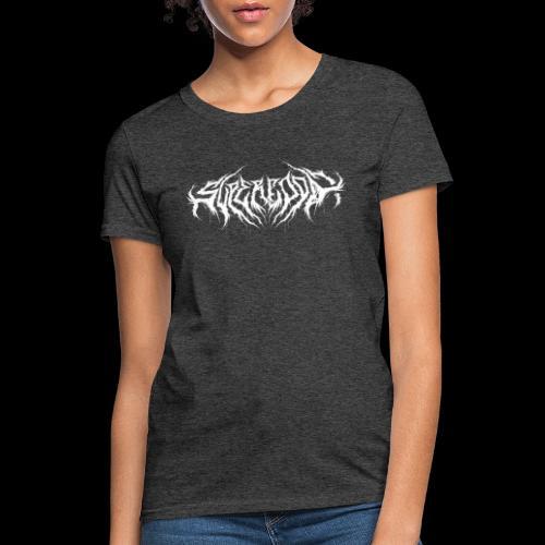 Supercool! logo - REVAMPIRED [WHITE] - Women's T-Shirt