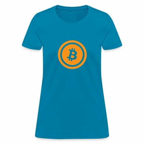 Bitcoin branding 45 - Women's T-Shirt