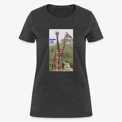 Two Headed Giraffe - Women's T-Shirt