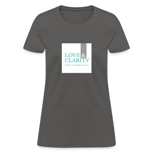 large logo wht - Women's T-Shirt