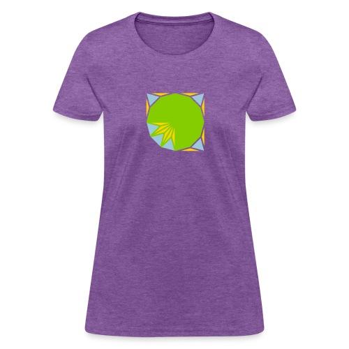 area 12 gon of radius 1 3 - Women's T-Shirt