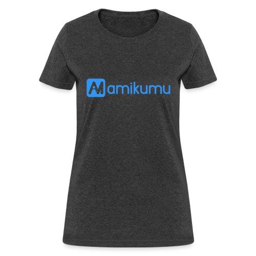 Amikumu Logo Blue - Women's T-Shirt