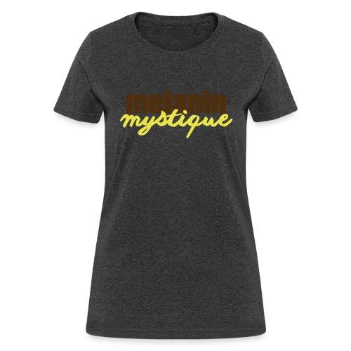melaninmystiqueyellow - Women's T-Shirt