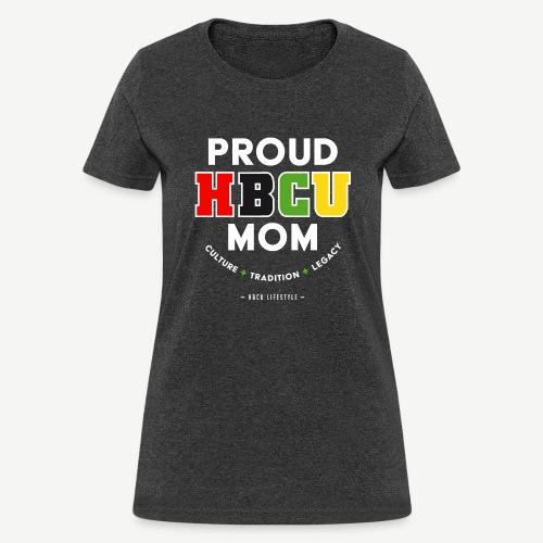 Proud HBCU Mom RGB - Women's T-Shirt