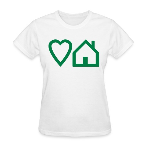 ts-3-love-house-music - Women's T-Shirt