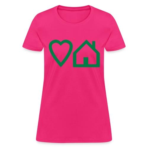 ts-3-love-house-music - Women's T-Shirt