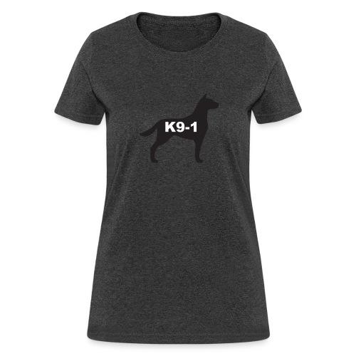 K9-1 logo - Women's T-Shirt