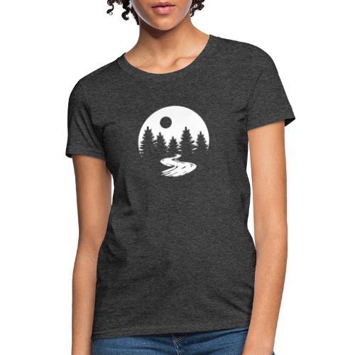 """ The Moon "" - Women's T-Shirt"