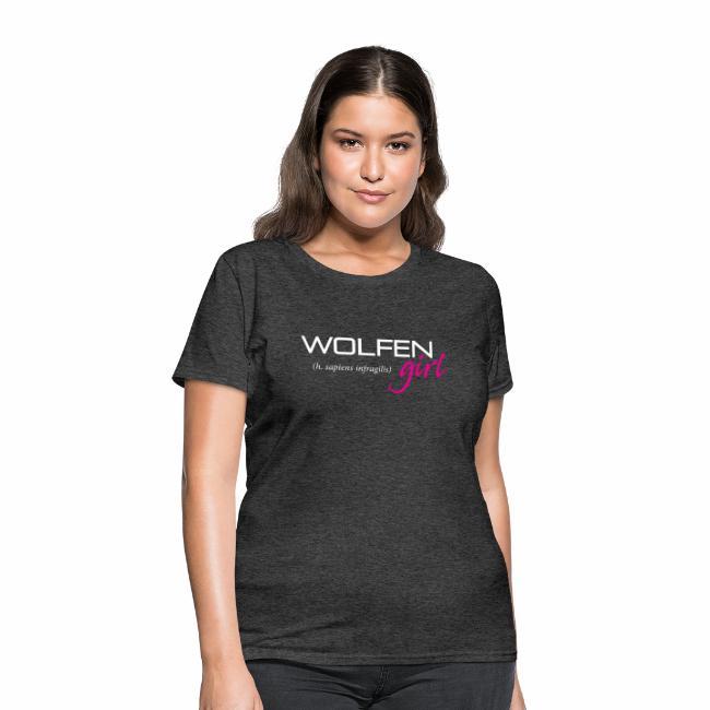 Front/Back: Wolfen Girl on Dark - Adapt or Die