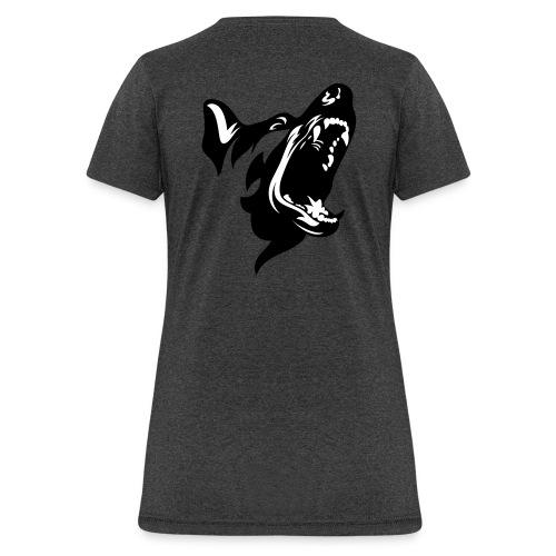 German Shepherd Dog Head - Women's T-Shirt