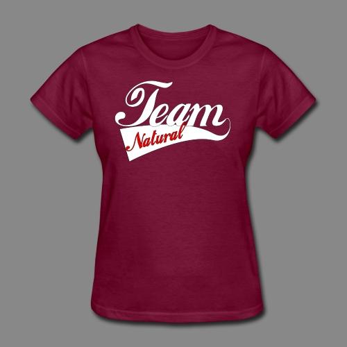 Team Natural Red/White - Women's T-Shirt