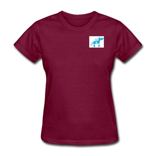 bluehorse2 - Women's T-Shirt