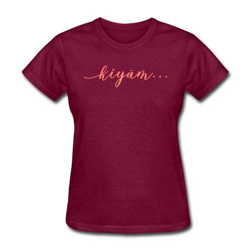 Kiyam - Women's T-Shirt