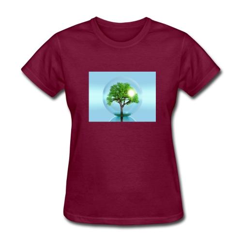 Tree Of Planet - Women's T-Shirt