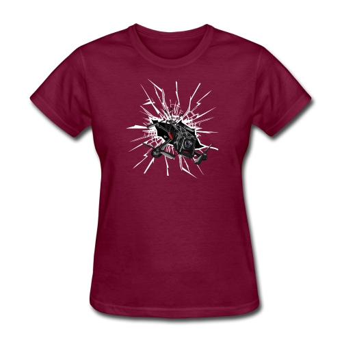 Drone Crash - Women's T-Shirt