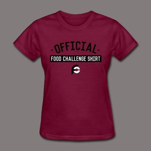 Official Food Challenge Shirt 1 - Women's T-Shirt