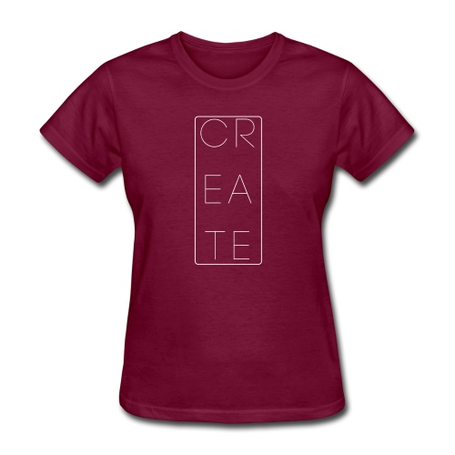 Create Is The Key - Women's T-Shirt